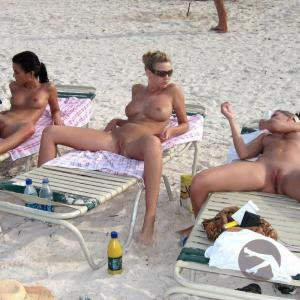 One swingers at a sex resort at the beach